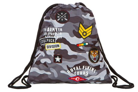 Sprint спортна торба Camo Black Badges