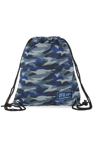 Спортна торба COOLPACK - SPRINT LINE - CAMO MESH GREY