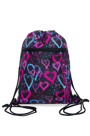 Спортна торба COOLPACK - VERT -  DRAWING HEARTS