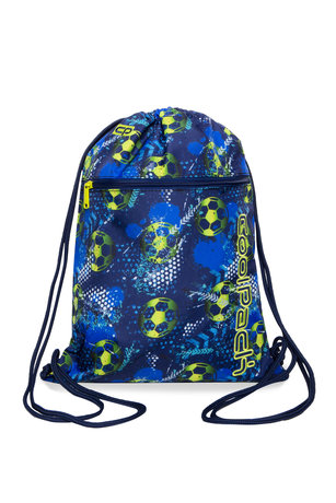Спортна торба COOLPACK - VERT -  FOOTBALL BLUE