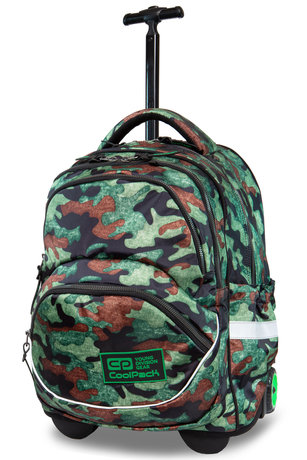 Раница на колела COOLPACK - STARR - CAMO FUSION GREEN