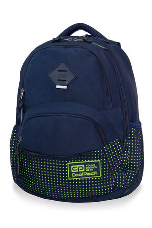 Раница COOLPACK - DART II - DOTS YELLOW / NAVY