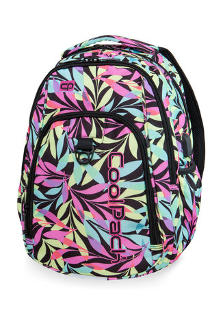 Раница COOLPACK - STRIKE USB - PASTEL LEAVES