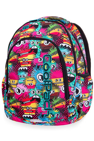 Раница COOLPACK - PRIME - WIGGLY EYES PINK