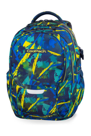 Раница COOLPACK - FACTOR - ABSTRACT YELLOW