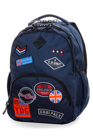 Раница COOLPACK - BENTLEY - A408 (BADGES BLUE)