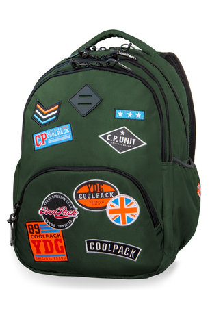 Раница COOLPACK - BENTLEY - A415 (BADGES GREEN)