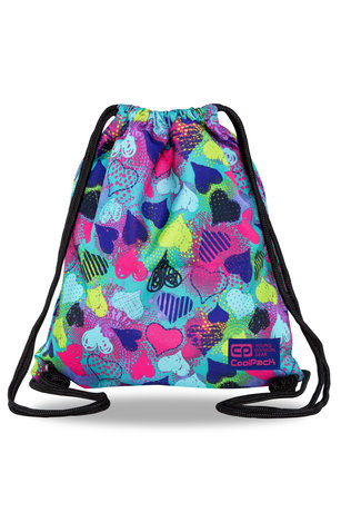Спортна торба COOLPACK - SOLO - HEARTS GRAFFITI
