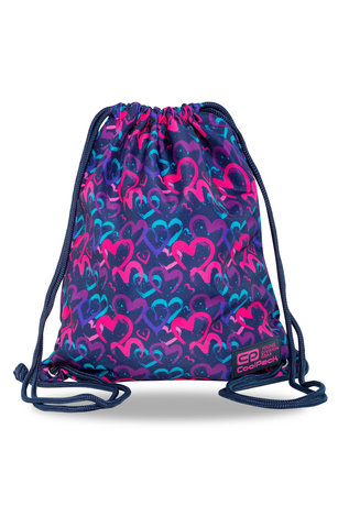 Спортна торба COOLPACK - SOLO L - DRAWING HEARTS
