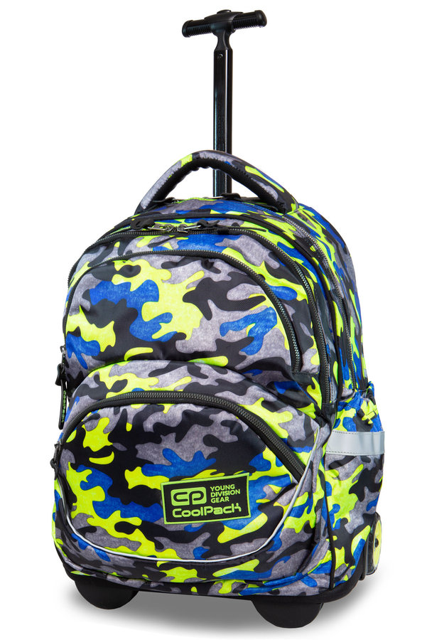 Раница на колела COOLPACK - STARR - CAMO FUSION YELLOW