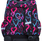 Раница на колела COOLPACK - JUNIOR - DRAWING HEARTS